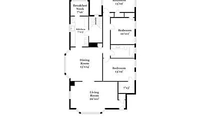 Patio / Deck, 1629 Waterbury Rd, 2