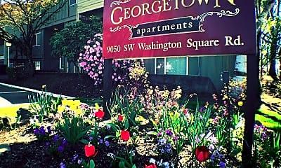 Community Signage, 9050 SW Washington Square Rd, 2