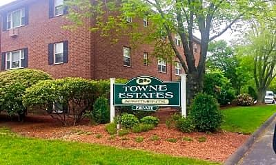 Community Signage, Towne Estates Apartments, 0