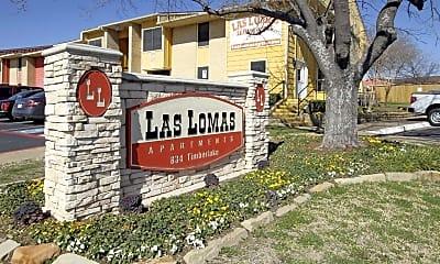 Community Signage, Las Lomas, 2