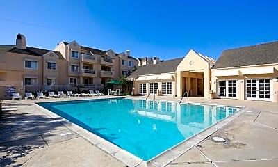 Pool, Huntington Beach Ocean Towers, 1