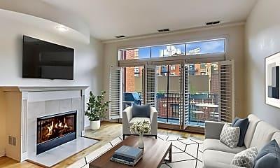 Living Room, 330 N Clinton Street #407, 0