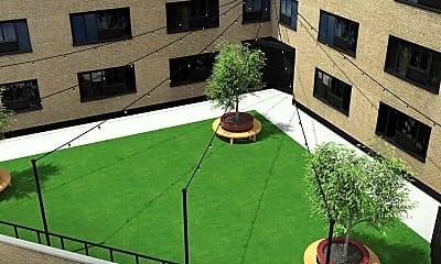 Courtyard, Archer Tower, 1