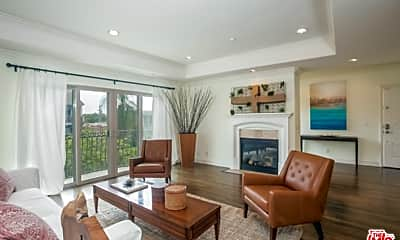 Living Room, 1741 S Bentley Ave 3, 1