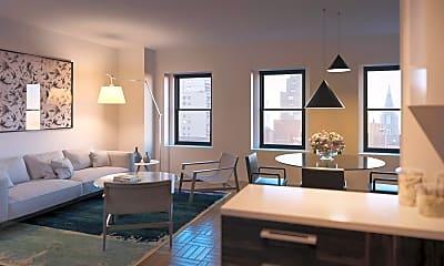 Living Room, 360 W 34th St 12-J, 0