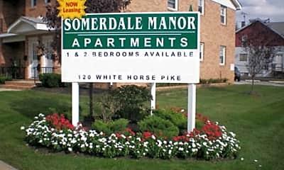 Community Signage, Somerdale Manor, 2