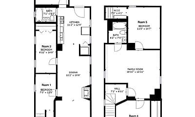 Bedroom, 1545 N Wood St, 2