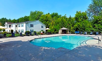 Pool, Portside Apartments, 1