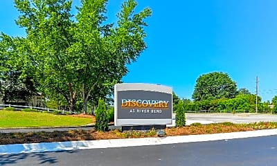 Community Signage, Discovery at River Bend, 2