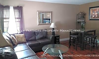 Living Room, 7443 Lamar Ave, 1