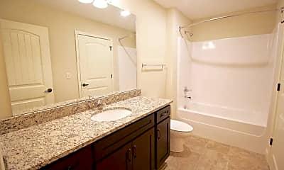 Bathroom, Anderson House Apartments, 1