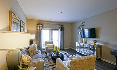 Living Room, Mosby Poinsett Apartments, 1