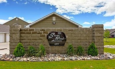 Community Signage, Stonewood Apartments, 2