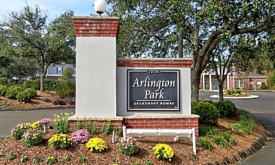 Community Signage, Arlington Park Apartments, 2