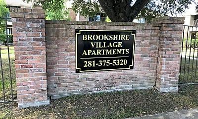 Brookshire Village, 1