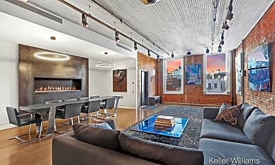 Living Room, 451 W Broadway 5NORTH, 1