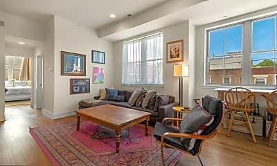 Living Room, 1356 S Bouvier St B, 1