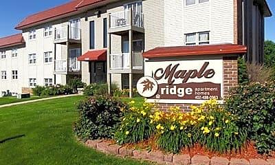 Community Signage, Maple Ridge Apartments, 0