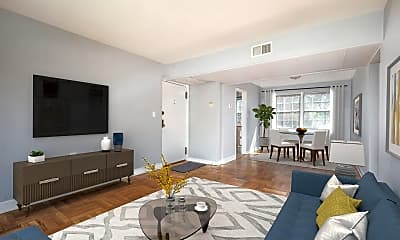Living Room, 6619 10th St A2, 1