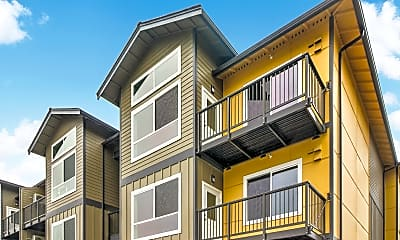 Building, Hamptons at Mill Creek, 1