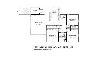 Bathroom, 1414 20th Ave, 2