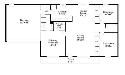 Building, 1111 Folkstone Ridge Ln, 1