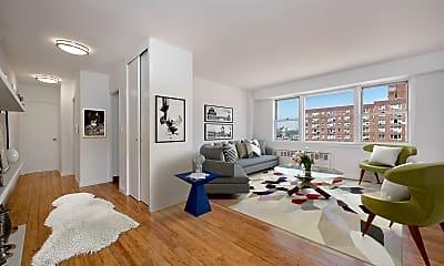 Living Room, 30 W 141st St 15-F, 0