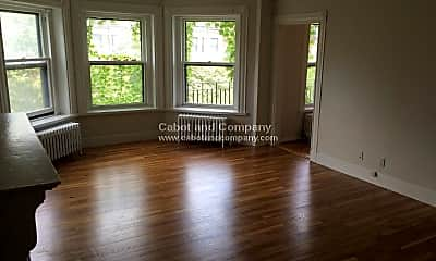 Living Room, 475 Beacon St, 1