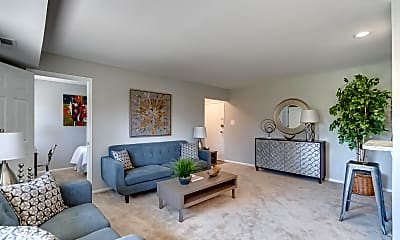 Living Room, The District at Forestville, 1