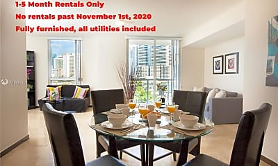 Dining Room, 1701 SW 2nd Ave 802, 0
