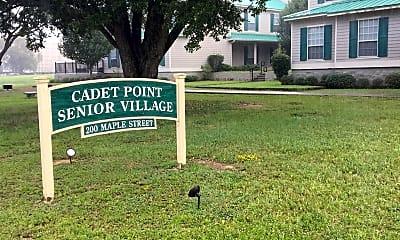Cadet Point Senior Village, 1