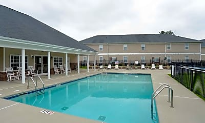 Pool, Church Street Apartments, 0
