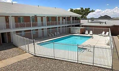 Pool, Siegel Suites Albuquerque, 2