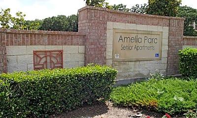 Community Signage, Amelia Parc Senior Living, 2