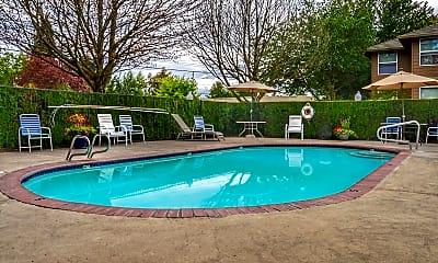 Pool, Village Place, 1