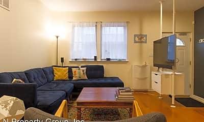 Living Room, 1142 N Galloway St, 1