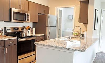 Kitchen, Villas at Chase Oaks, 0