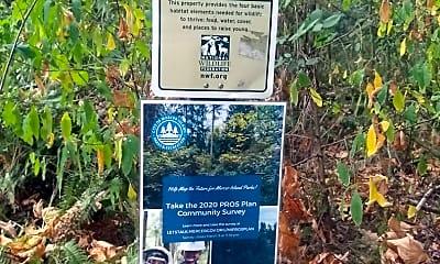 Community Signage, 2717 76th Ave SE, 2
