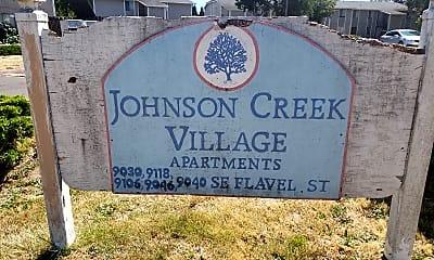 Johnson Creek Village, 1