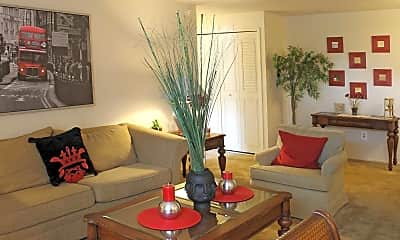 Living Room, Westchester Towers, 1