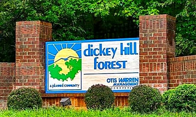 Community Signage, Dickey Hill Forest, 0