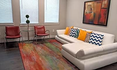 Living Room, 4819 Caroline St, 0