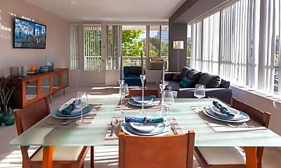 Living Room, Lake Meadows, 1