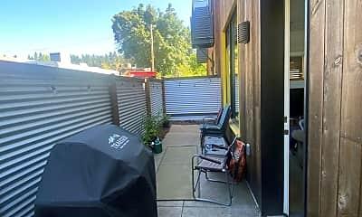 Patio / Deck, 2743 Friendly Alley, 2