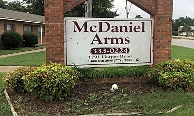 Mcdaniel Arms Apartments, 1