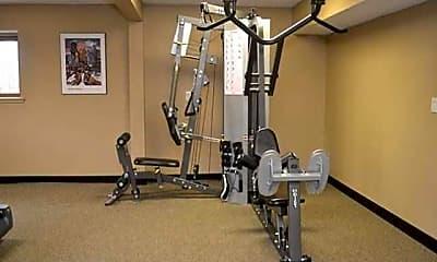 Fitness Weight Room, Fountainhead, 2