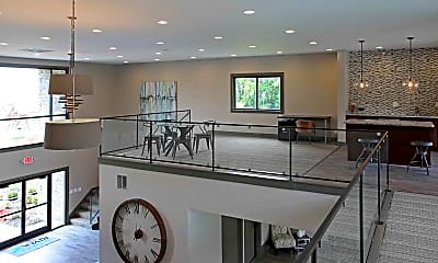 Clubhouse, Saddle River Apartments, 1