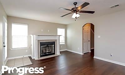 Living Room, 9849 White Poplar Drive, 1