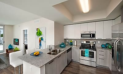 Kitchen, Grove Station Tower Apartments, 1