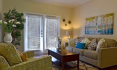 Living Room, Watercolor Apartments, 1